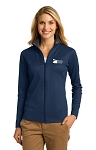 EMS - Port Authority L805 Ladies Heavyweight Vertical Texture Full-Zip Pullover
